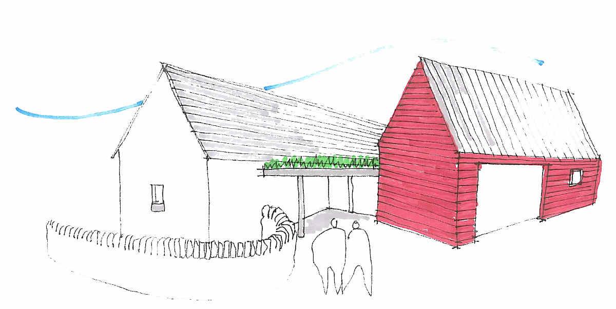 A sketched 3D concept view