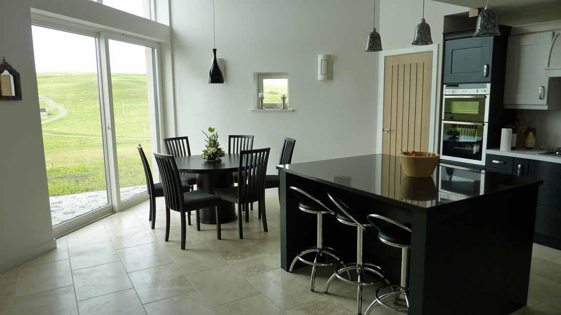 NEW BUILDING - Redman + Sutherland Architects, Shetland - Foraness kitchen