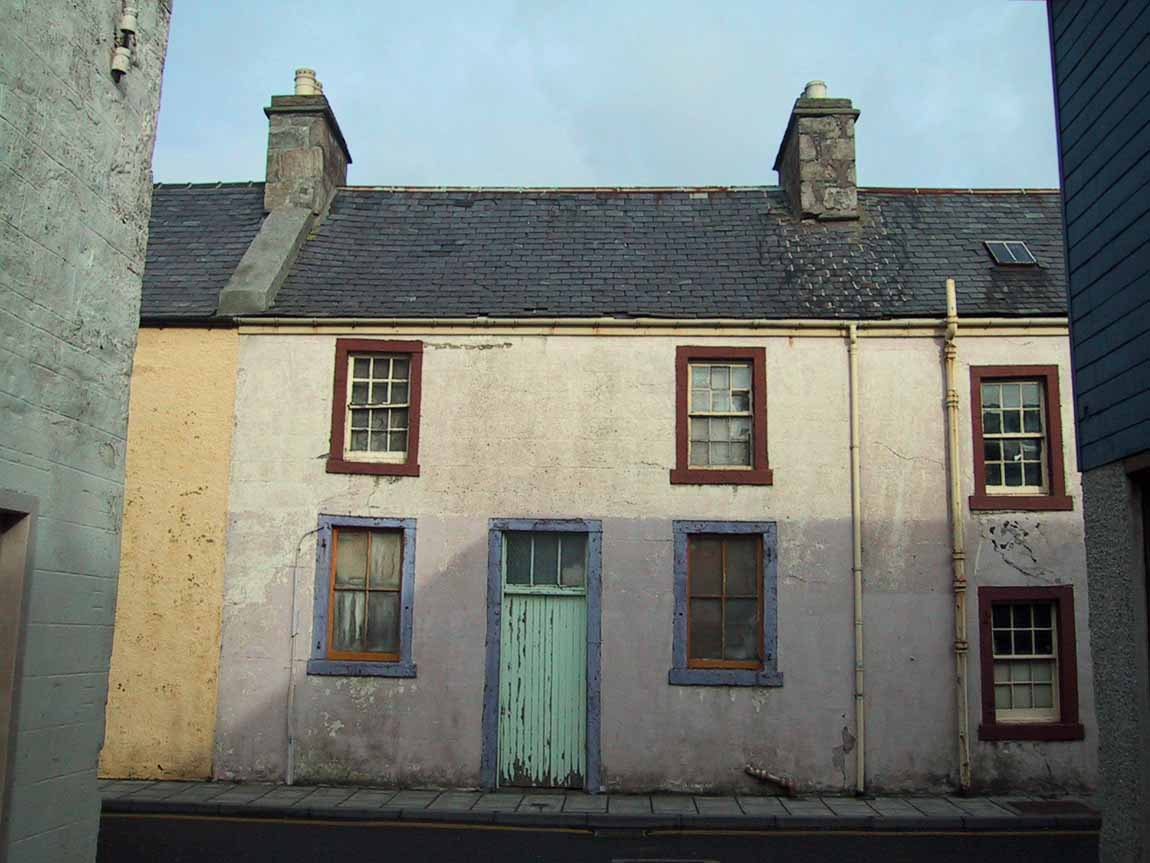 NEW LIFE FOR OLD BUILDINGS - Redman + Sutherland Architects, Shetland - Anderson Buildings before
