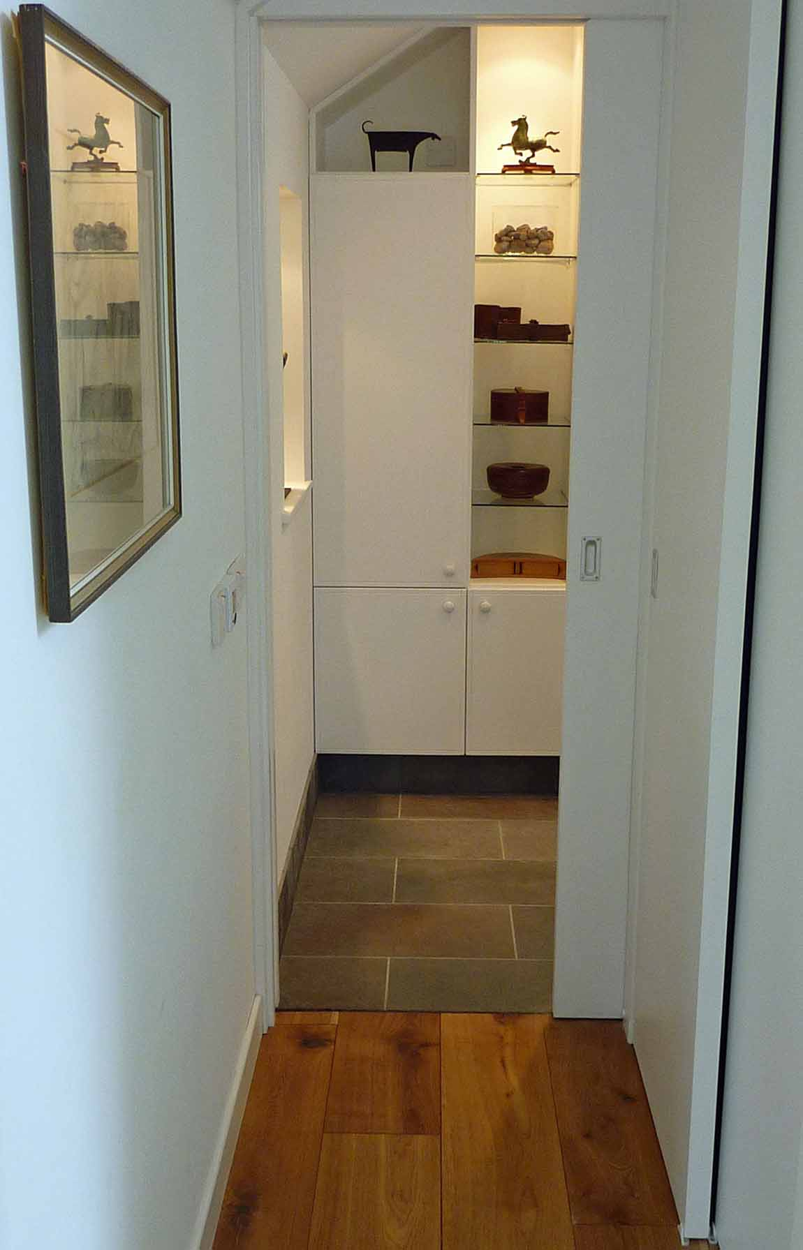 New Life for Old Buildings, Redman + Sutherland Architects New House, Cullivoe, Yell, Shetland bathroom entrance