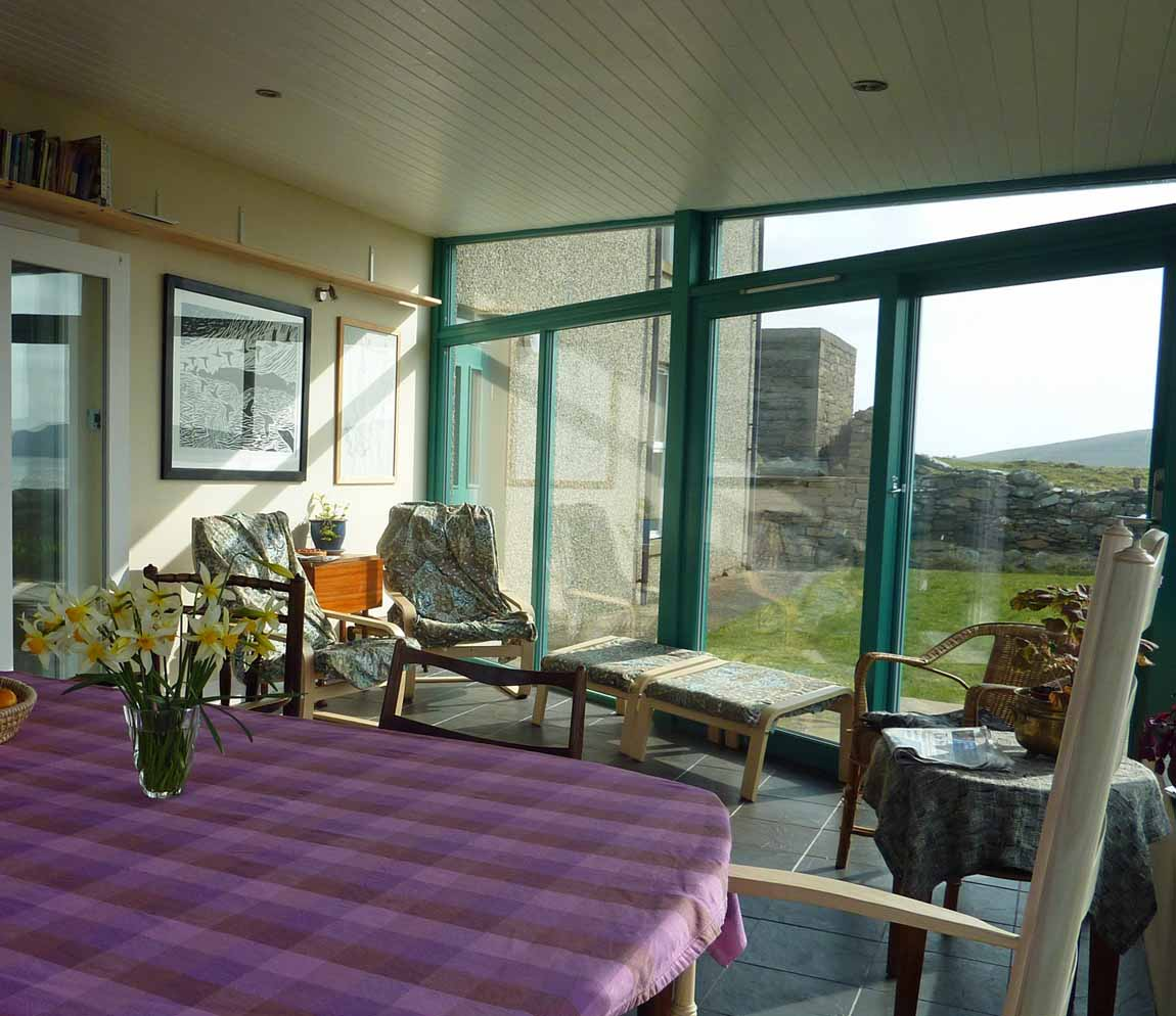 New life for old Buildings Redman and Sutherland Architects Shetland,  Fair View, Scatness sitootery