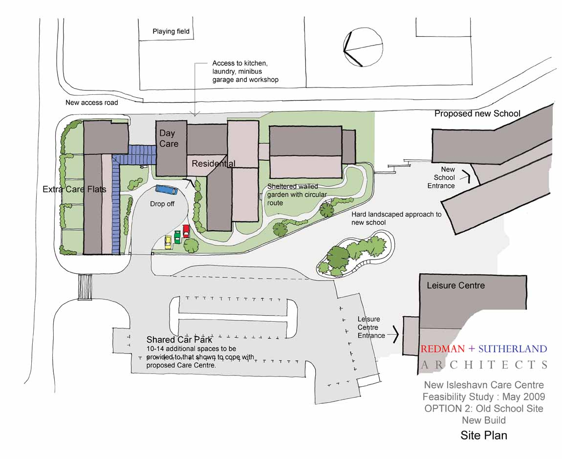 Option 2 -Site Plan