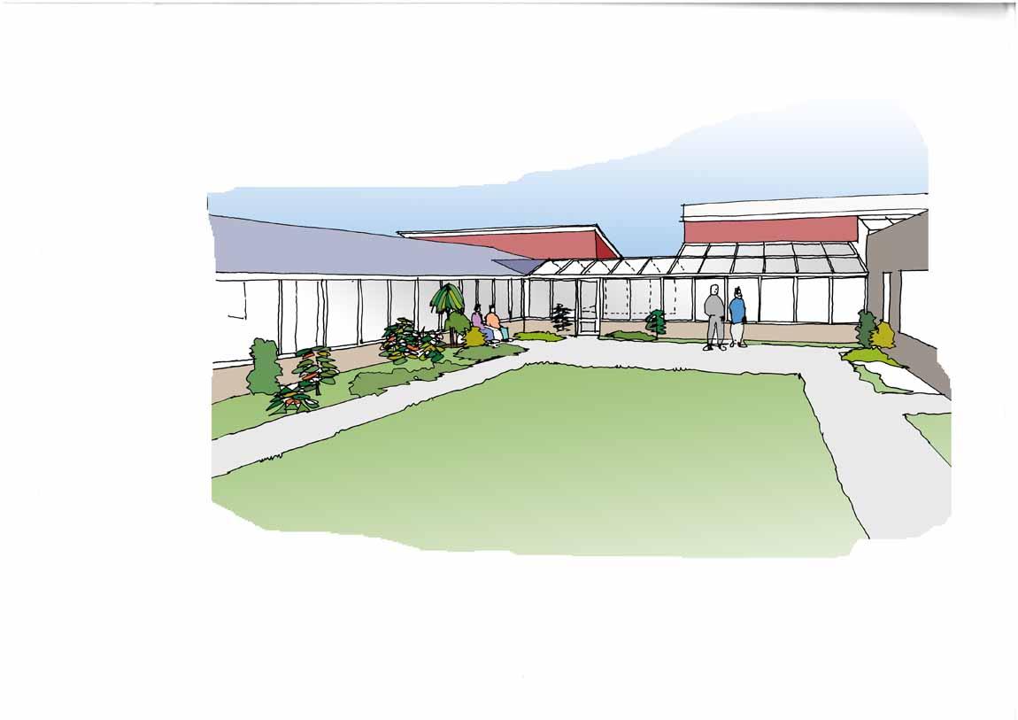 Option 3-Ext courtyard